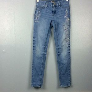 Justice Girls Simply Low Jegging Jeans Sz 12 Slim